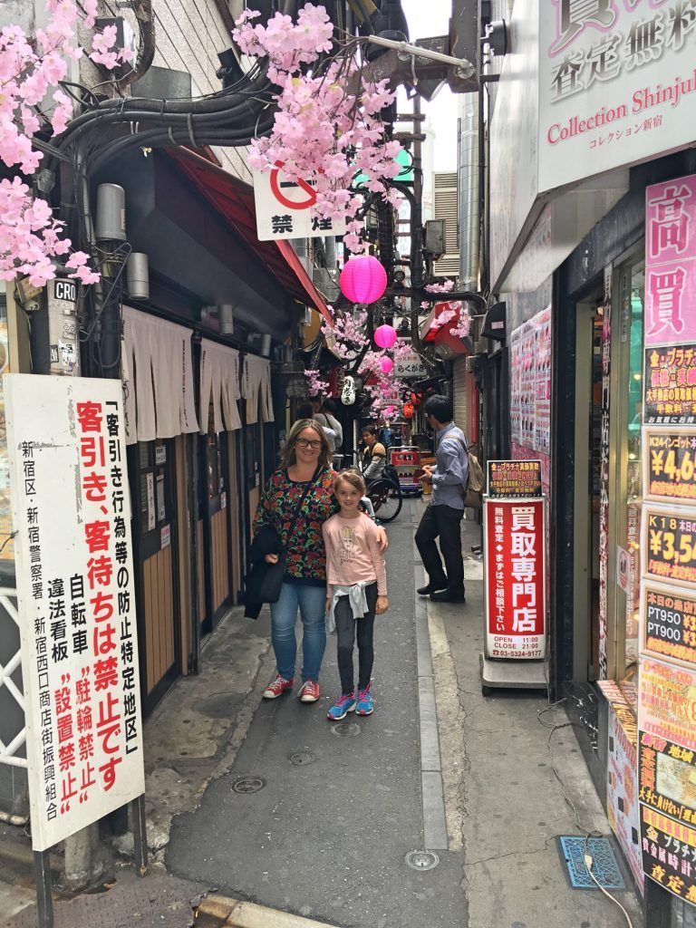 The cute back streets of Shinjuku