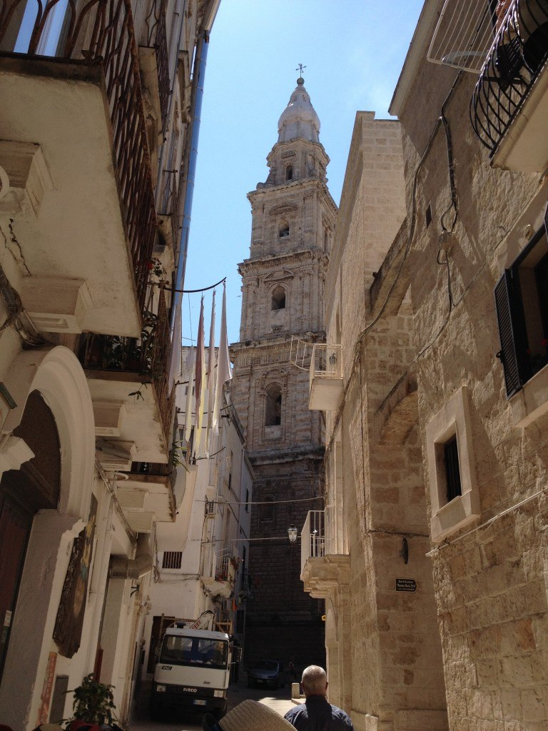 The cathedral at Monopoli