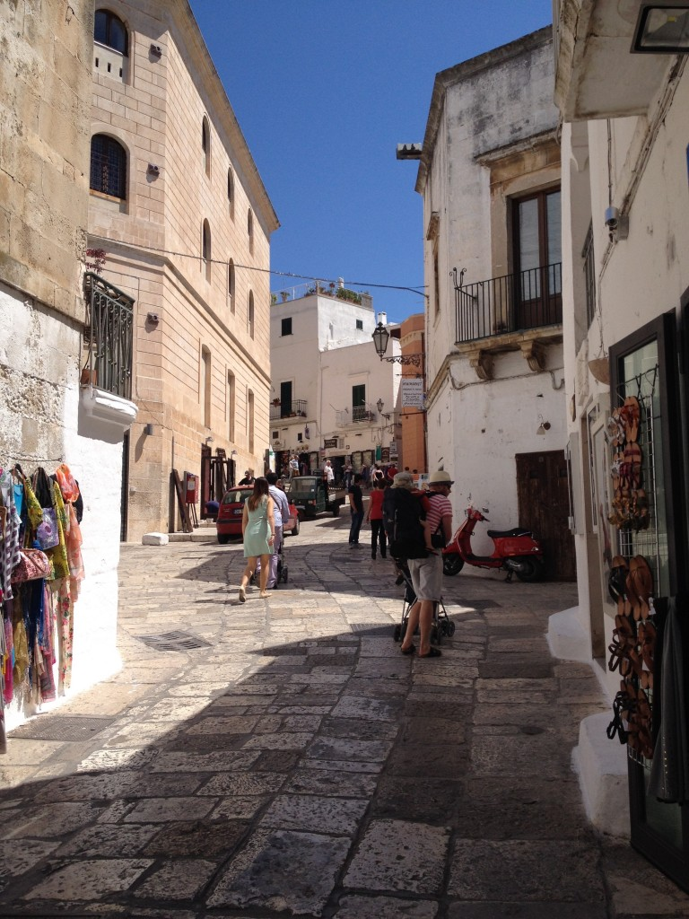 We finally made it to Ostuni!!