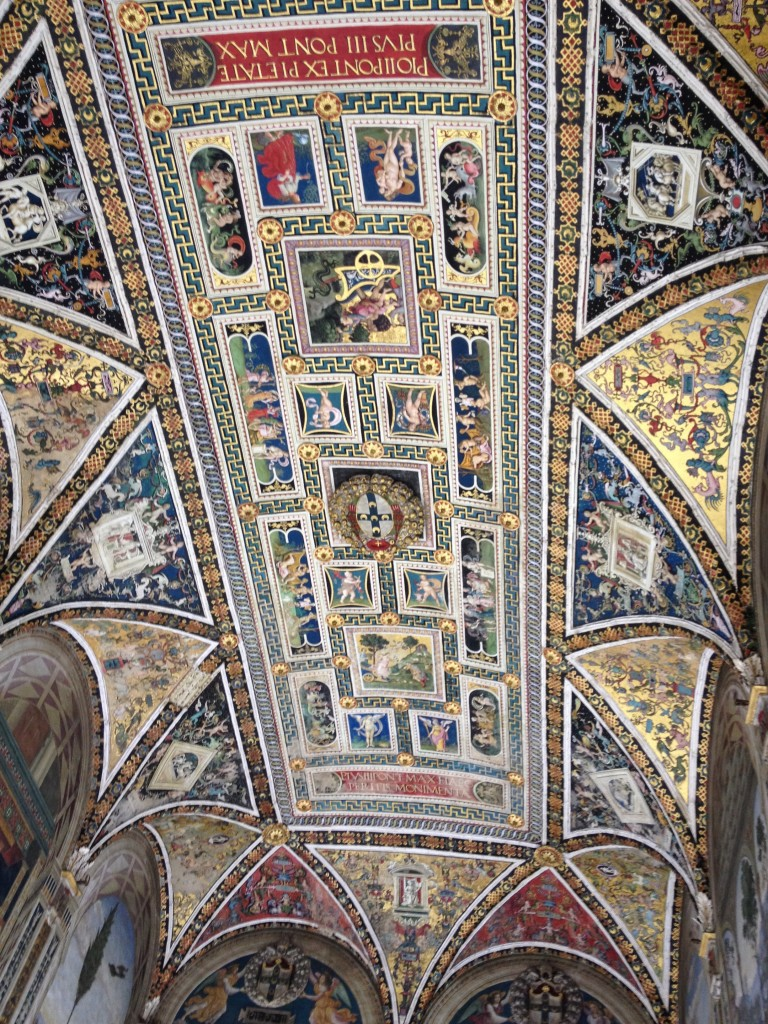 Ceiling in part of the duomo
