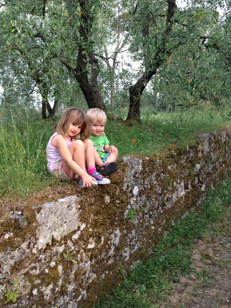 The kids at Montestigliano