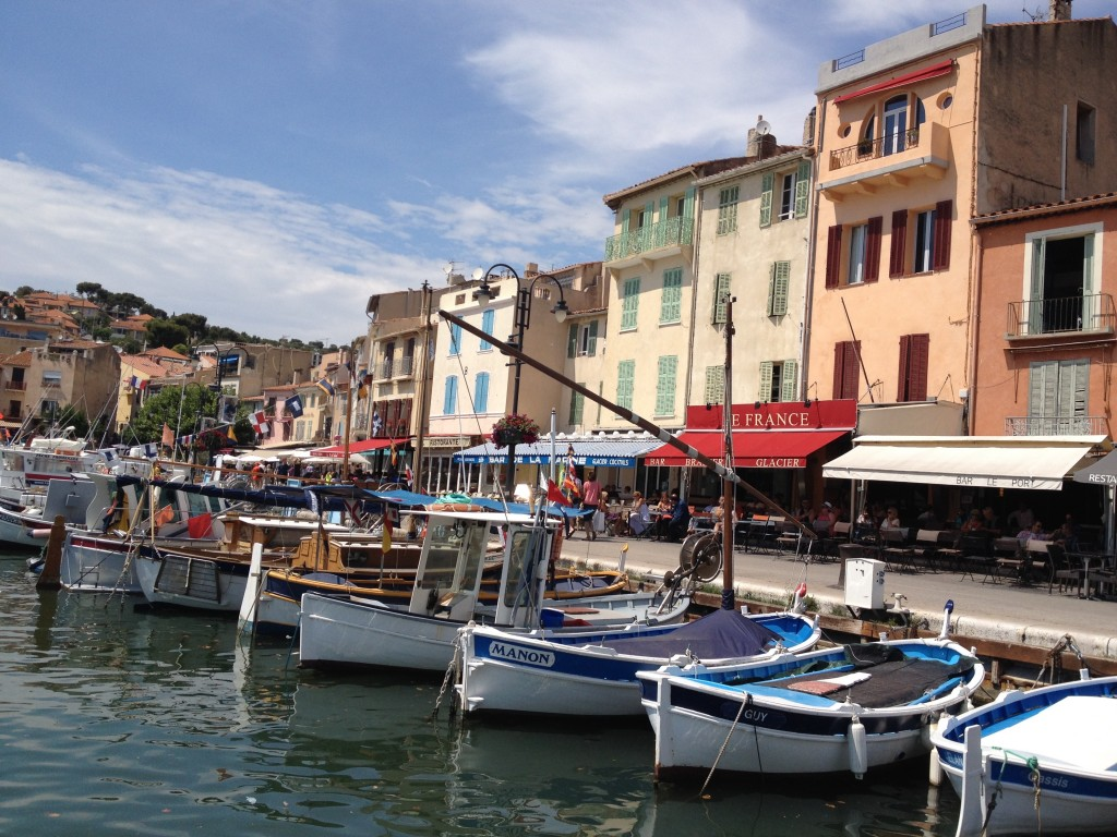 The gorgeous seaside town of Cassis
