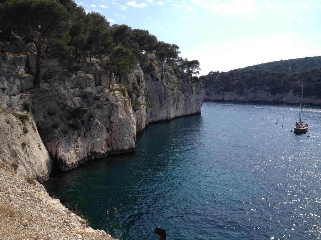 The beautiful calanques