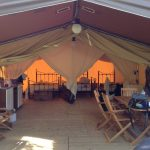 Tent in France