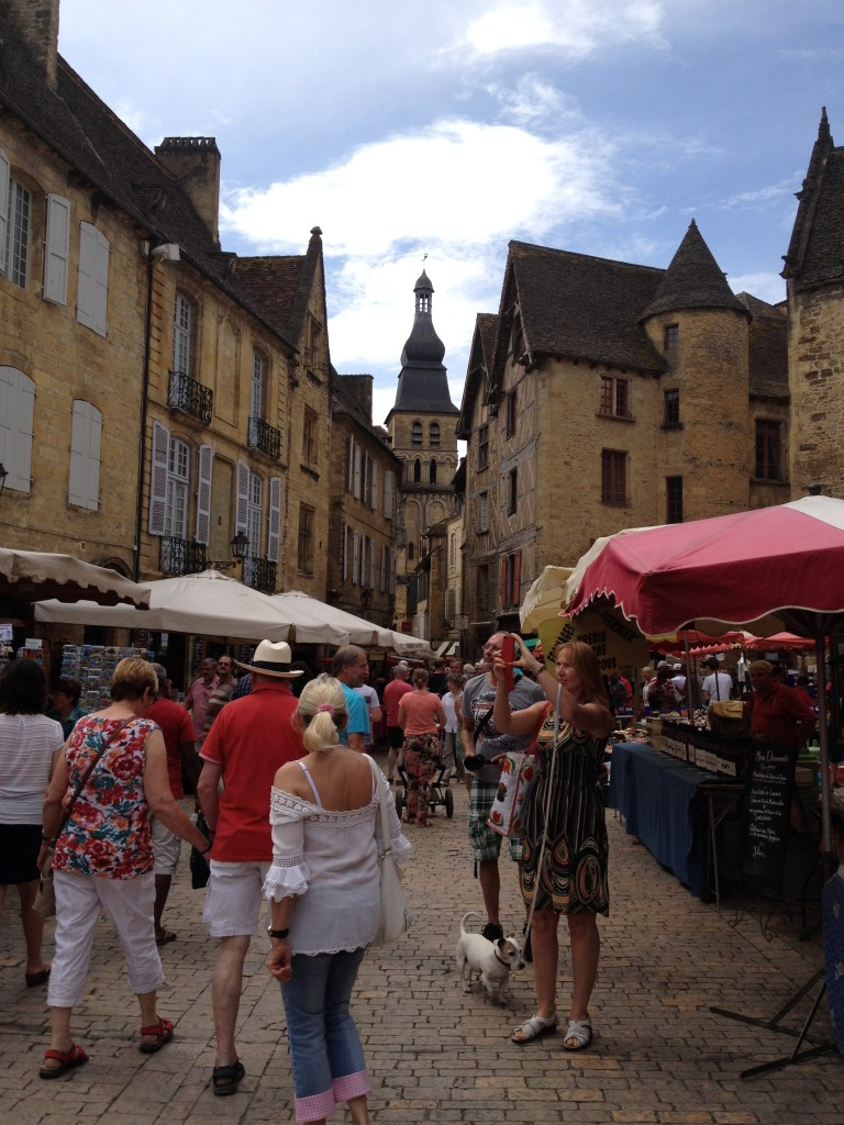 The beautiful market town of Sarlat-le-Caneda.