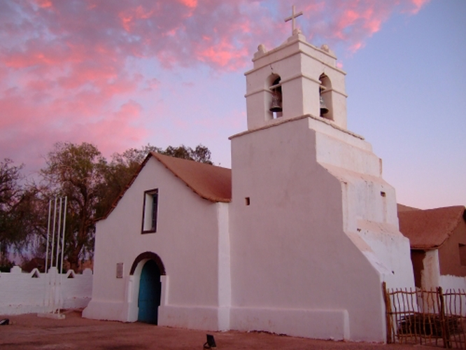 Church at San Pedro de Atacama