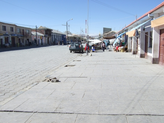 Downtown Uyuni. Apologies to anyone who lives there but what a shithole.