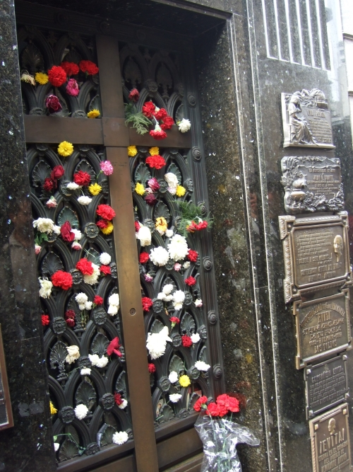 The grave of Eva Peron (Evita)