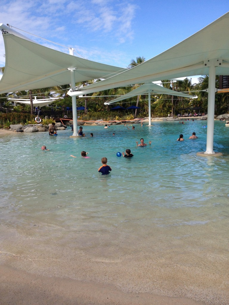 Main pool at Radisson Blu resort, Fiji