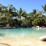 Pool at the Radisson Blu resort, Fiji
