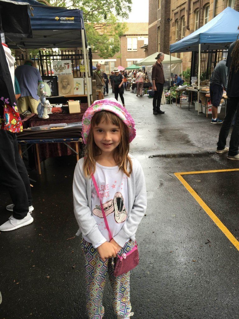 Sophie at Rozelle Market