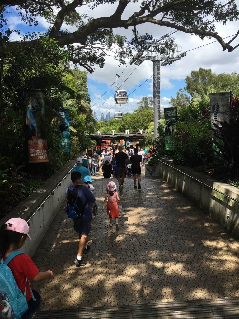 Entrance to Taronga Zoo