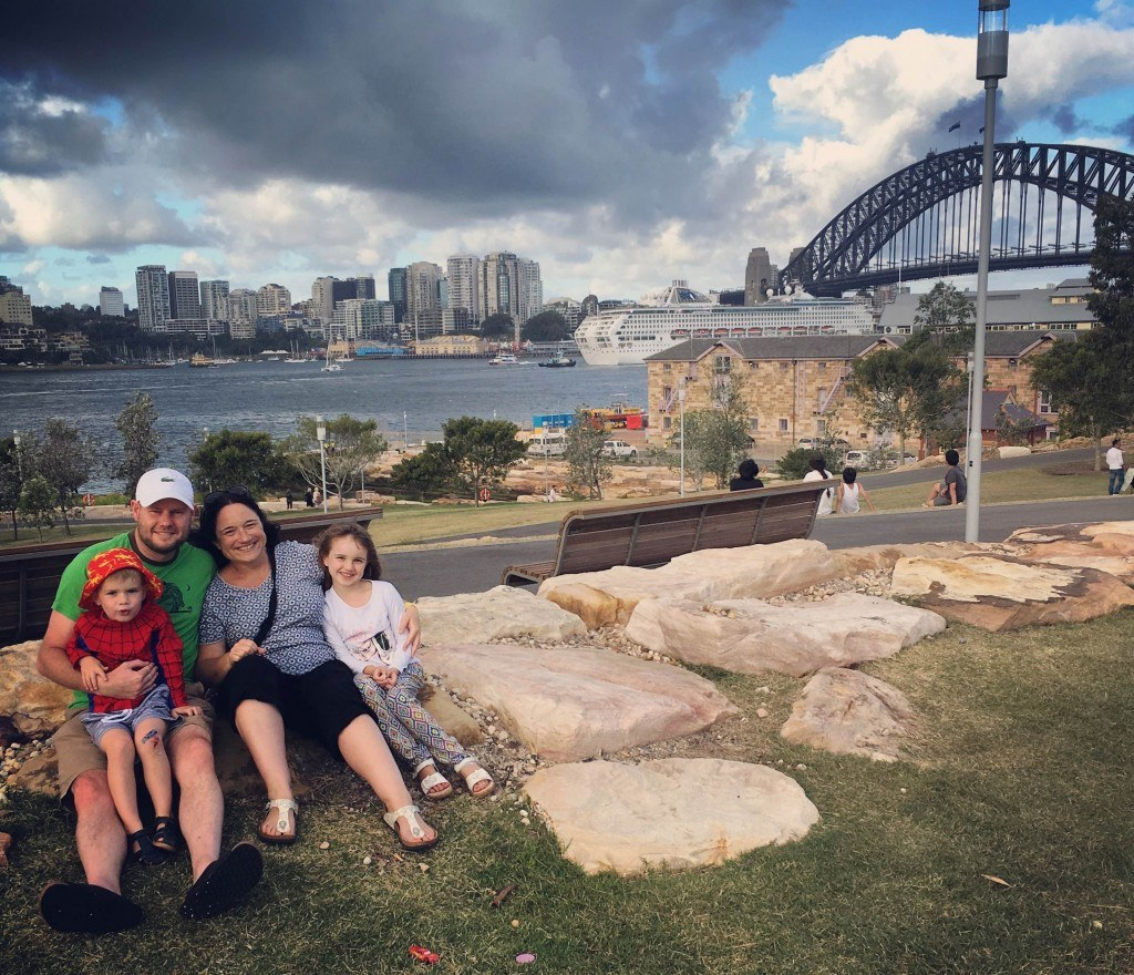 Spot the tourists - Barangaroo Reserve