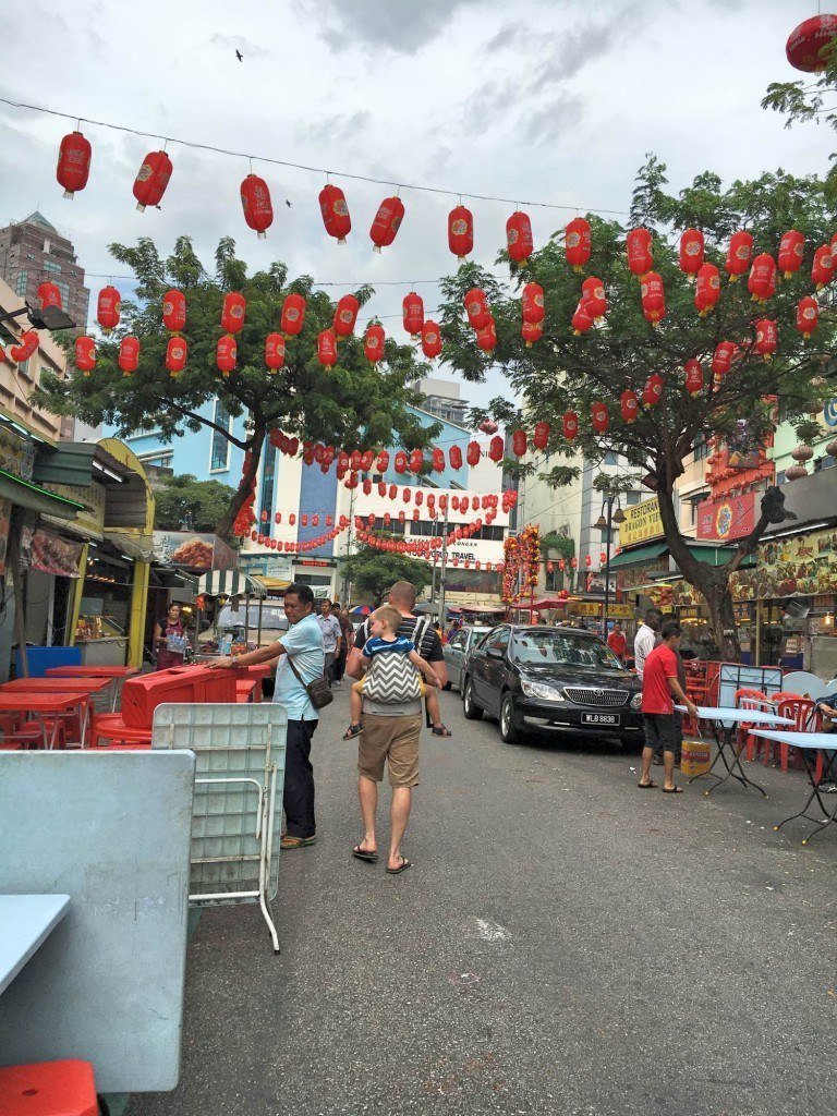 Checking out Jalan Alor