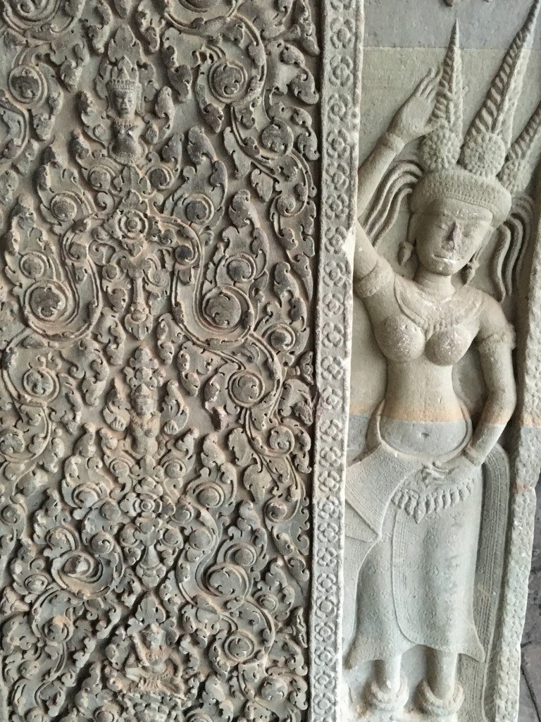 Beautiful bas carvings
