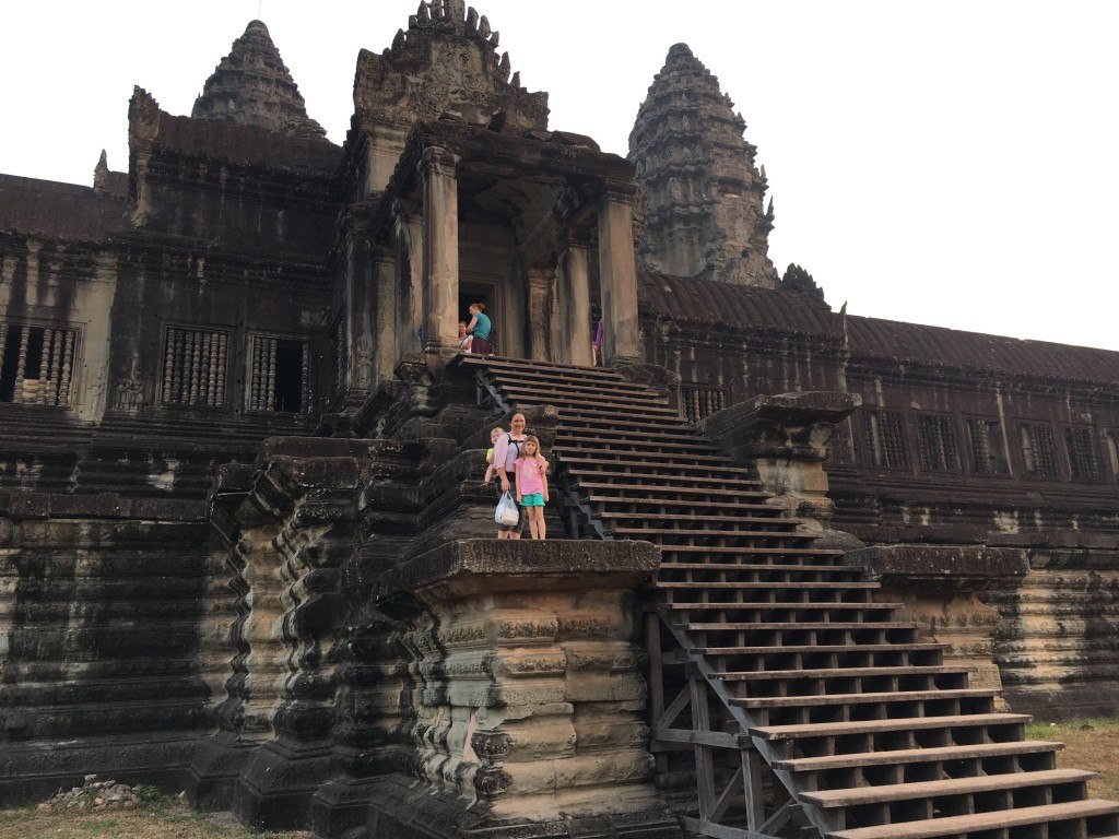 The inner towers of Angkor Wat