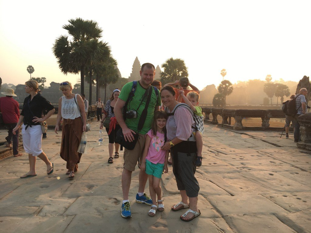 Us at Angkor Wat
