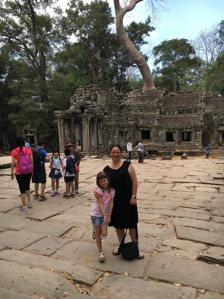 The entrance to Ta Phrom