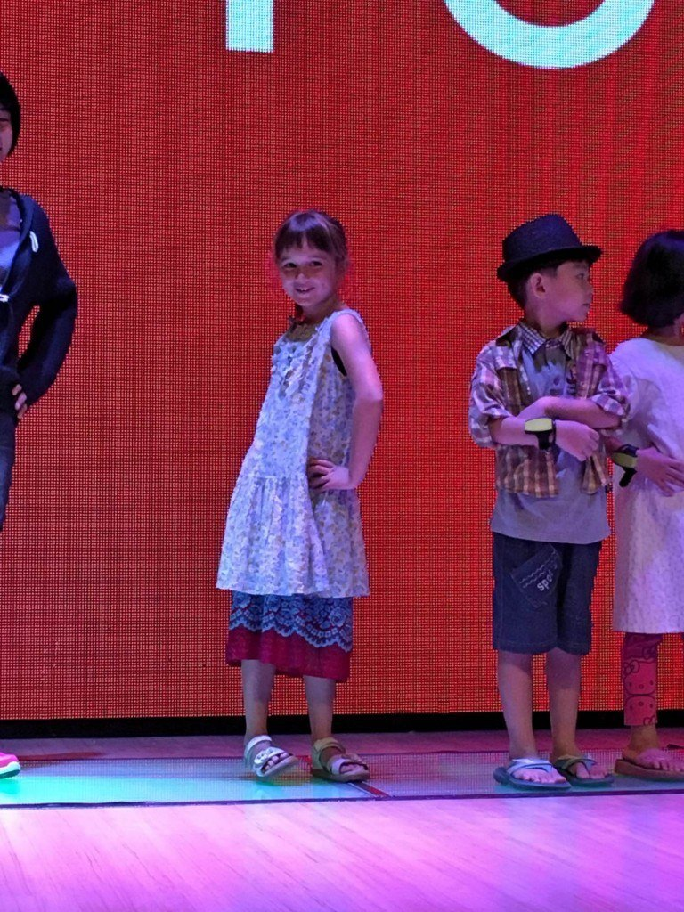A Kidzania fave - the fashion parade