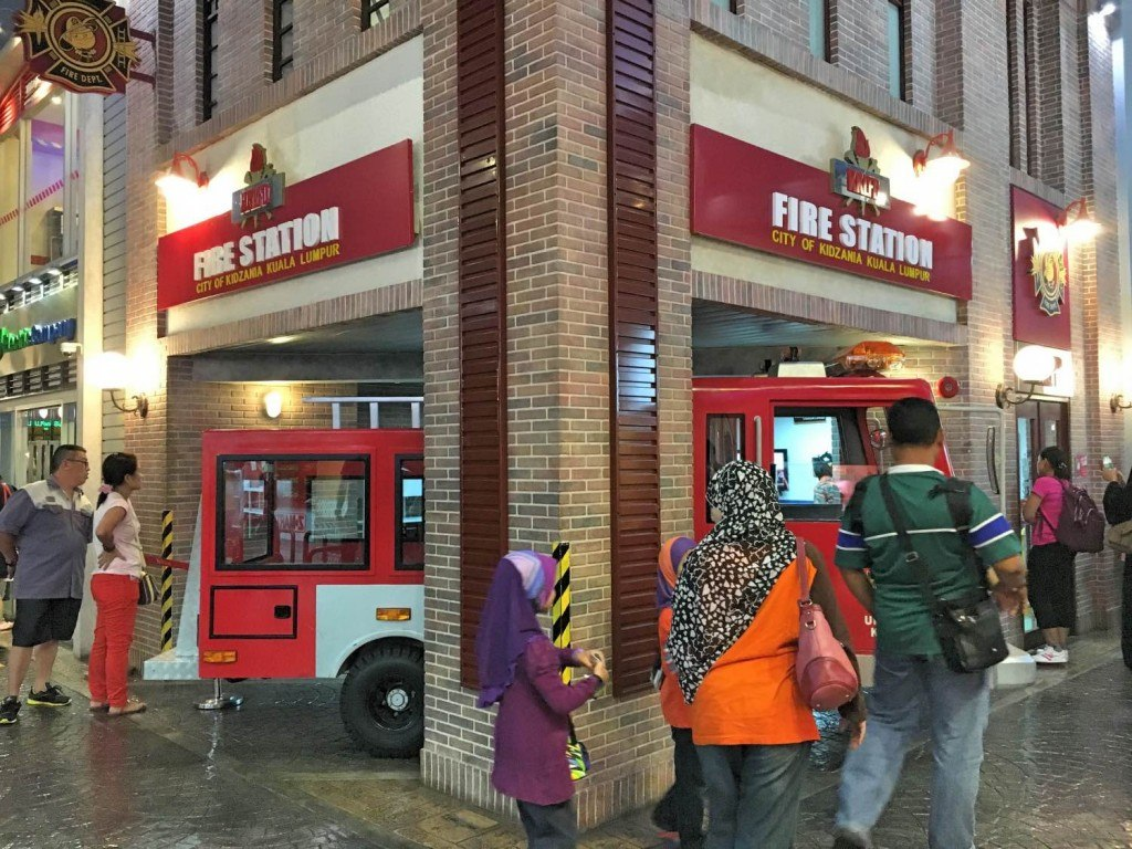The firestation alone is worth the Kidzania Malaysia price