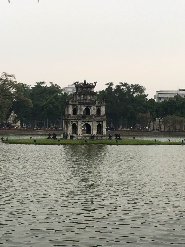 Turtle Tower in Hanoi