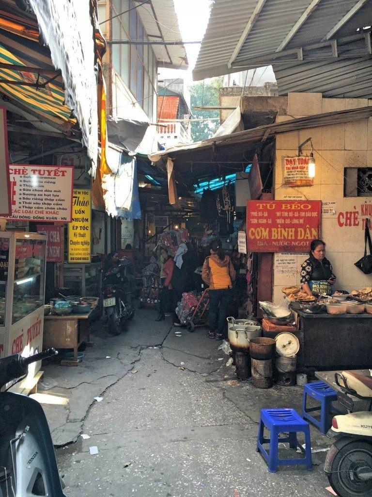 Old Market hanoi vietnam