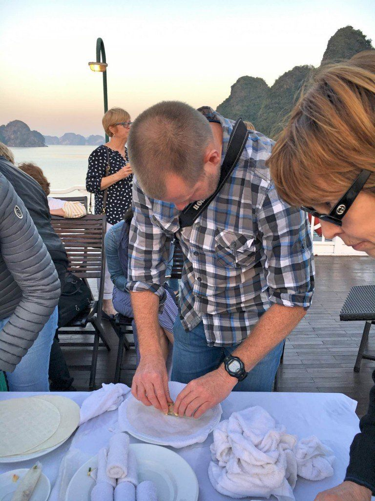 Cooking class in Halong Bay, Vietnam