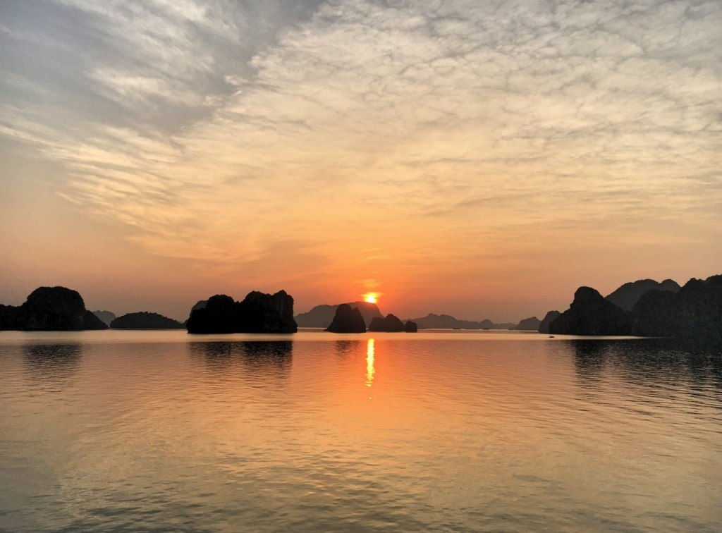 Halong Bay sunrise Vietnam