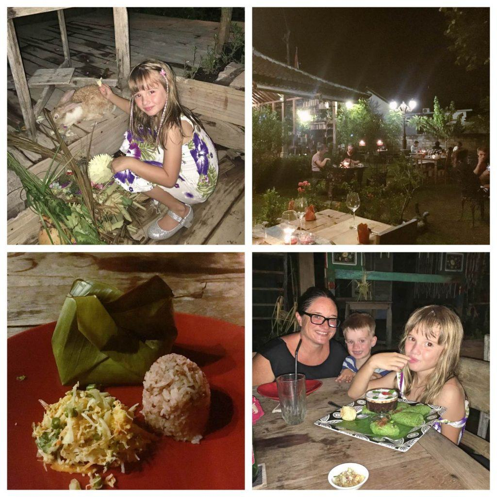 Warung Dandelion is pefect for bali with kids