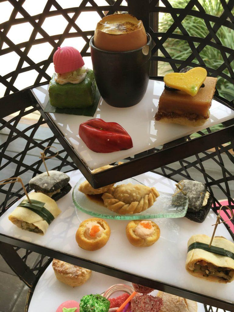 The Mad Hatter's tea party is ideal for high tea in Bali