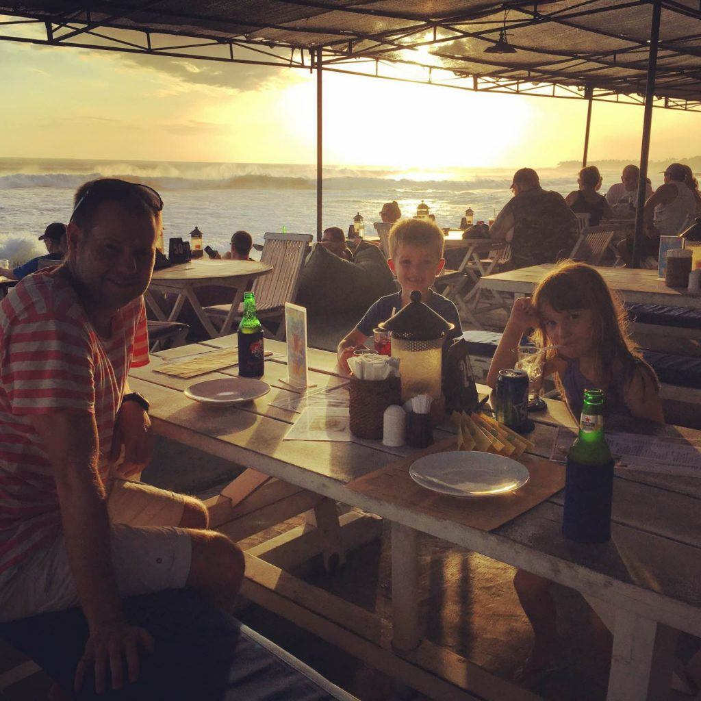 If overseas adventures is what you're after then try the surf at Echo Beach, followed by a delicious dinner