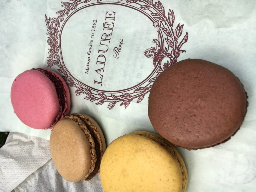 Macarons from Lauduree in Paris