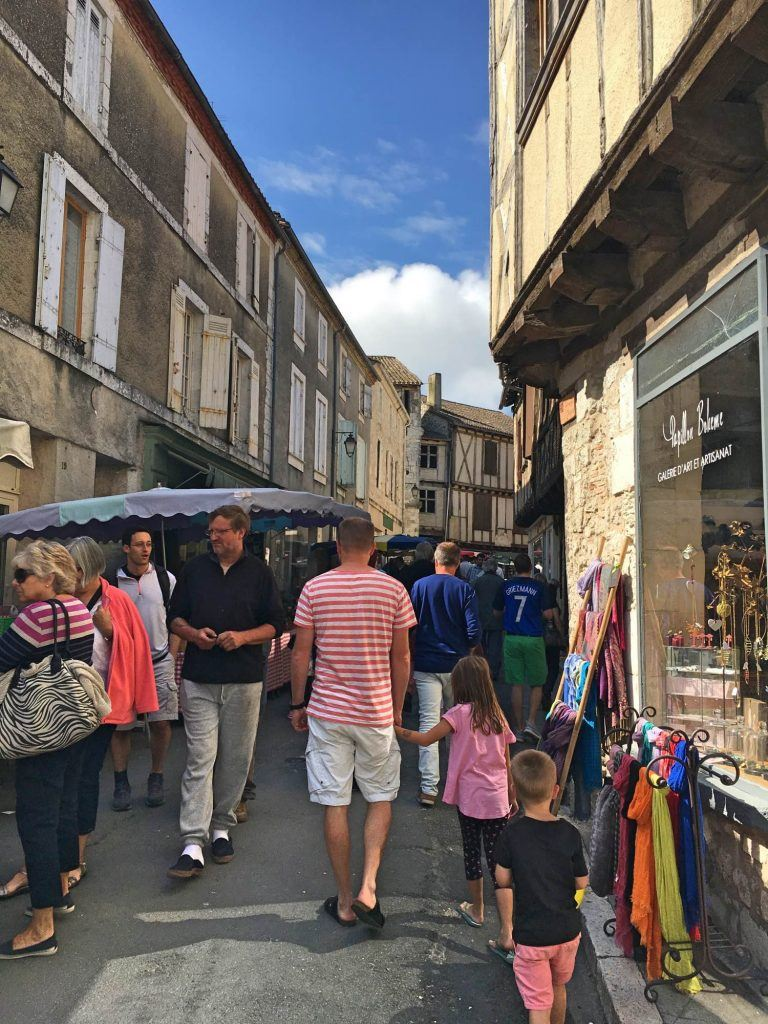 Market day in Issigeac