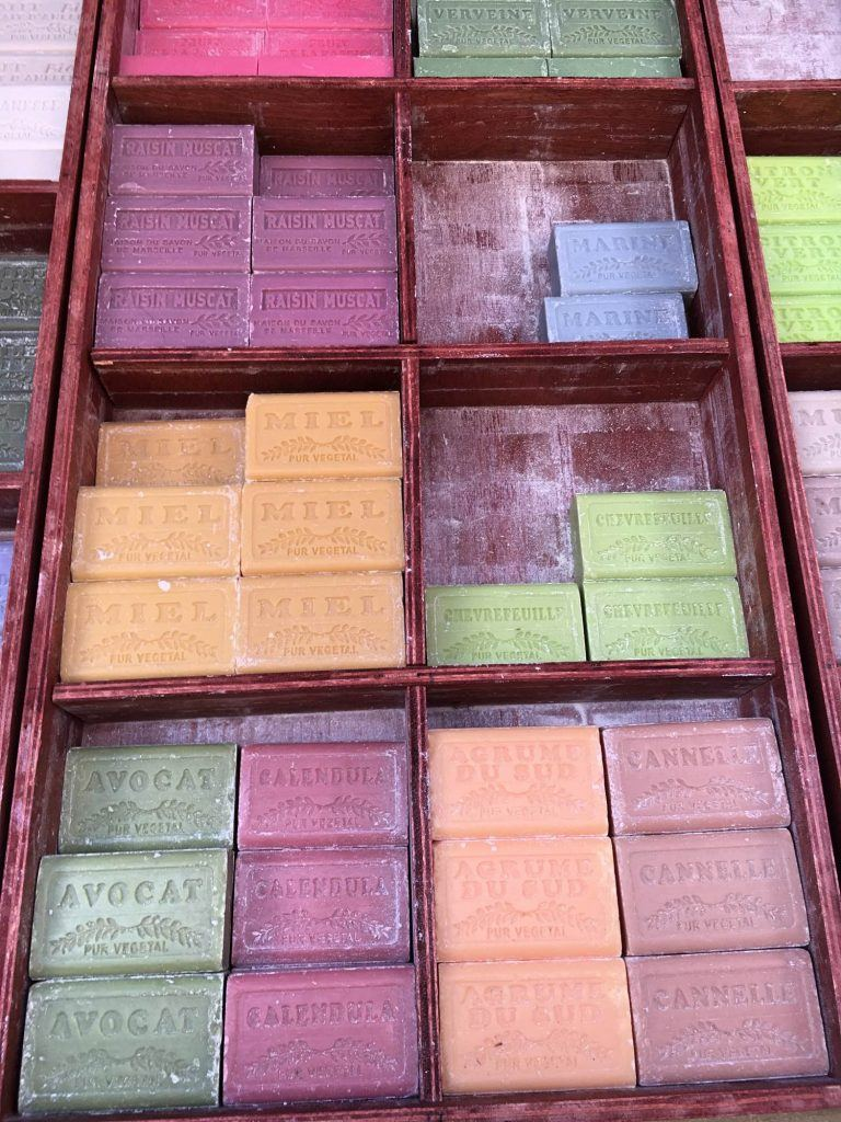 Savon / soap for sale. The smell is incredible