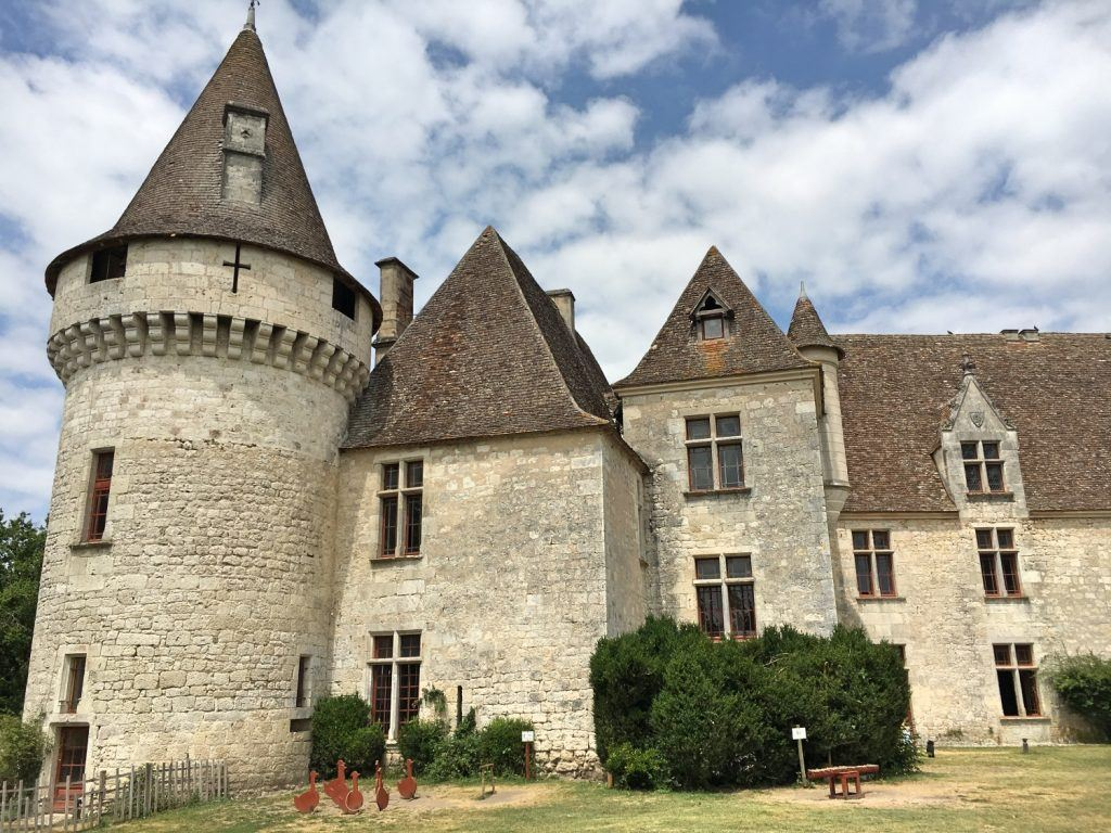 Chateau Bridoire in Dordogne