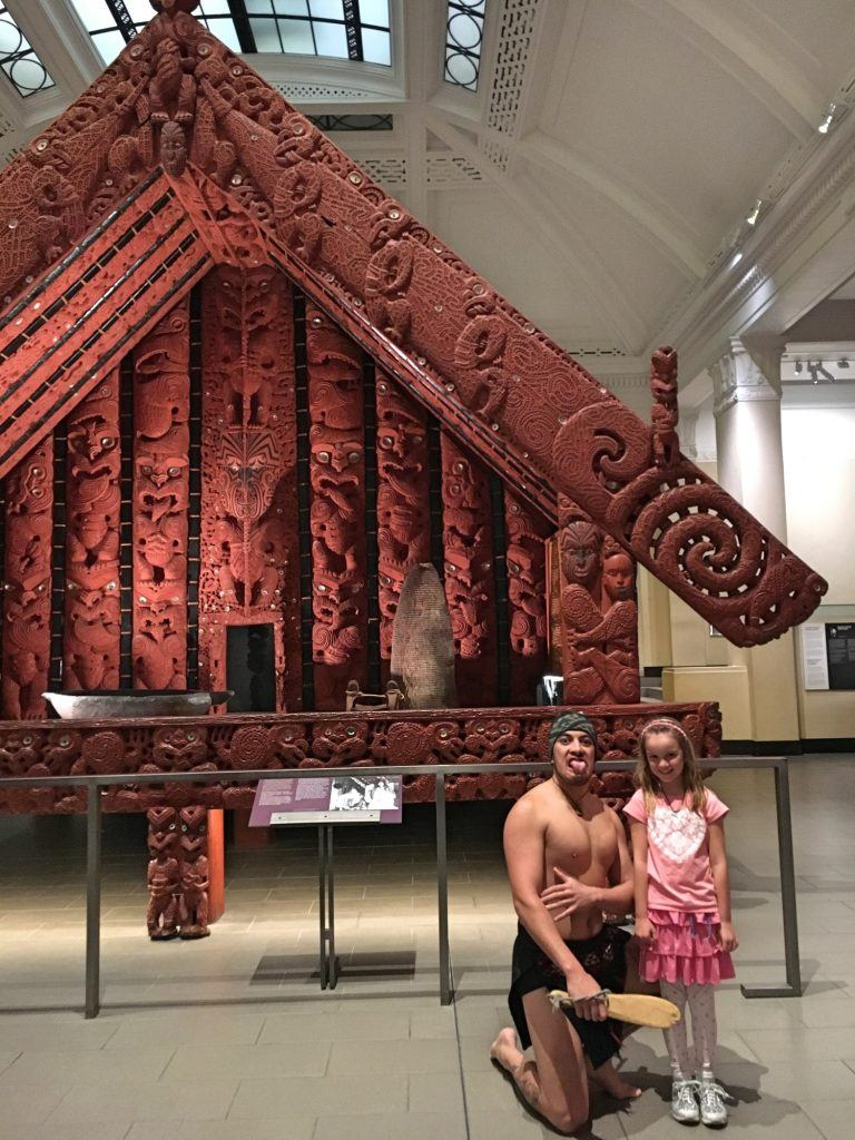Re-aquainting ourselves with our home culture at Auckland Museum