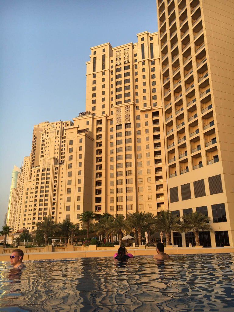 The JA Ocean View Hotel in Dubai