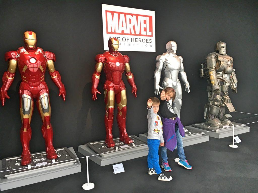 Marvel exhibition at Tokyo City View