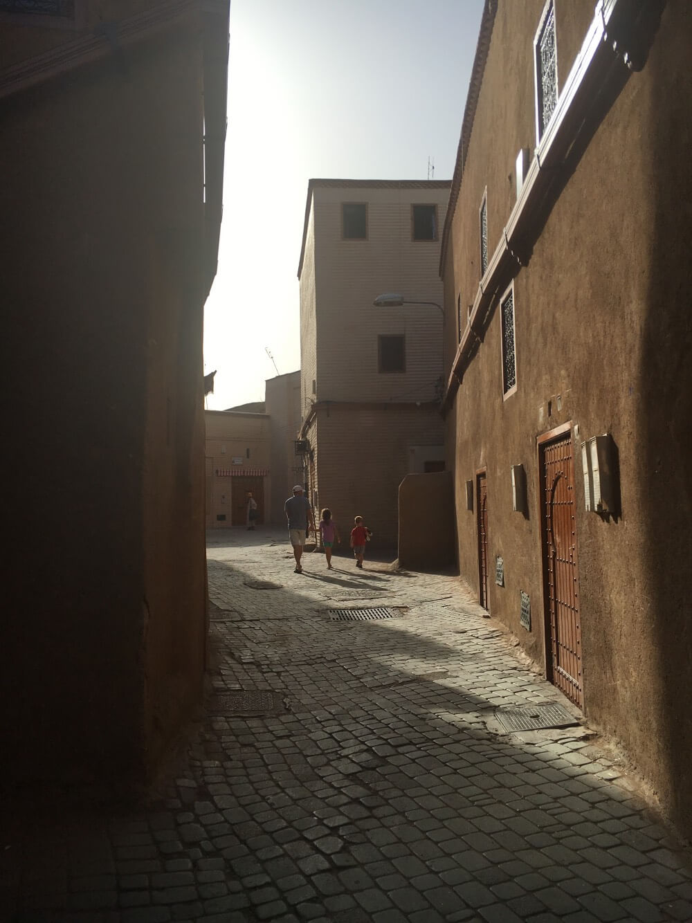The medina is one of the best places in Marrakesh with kids