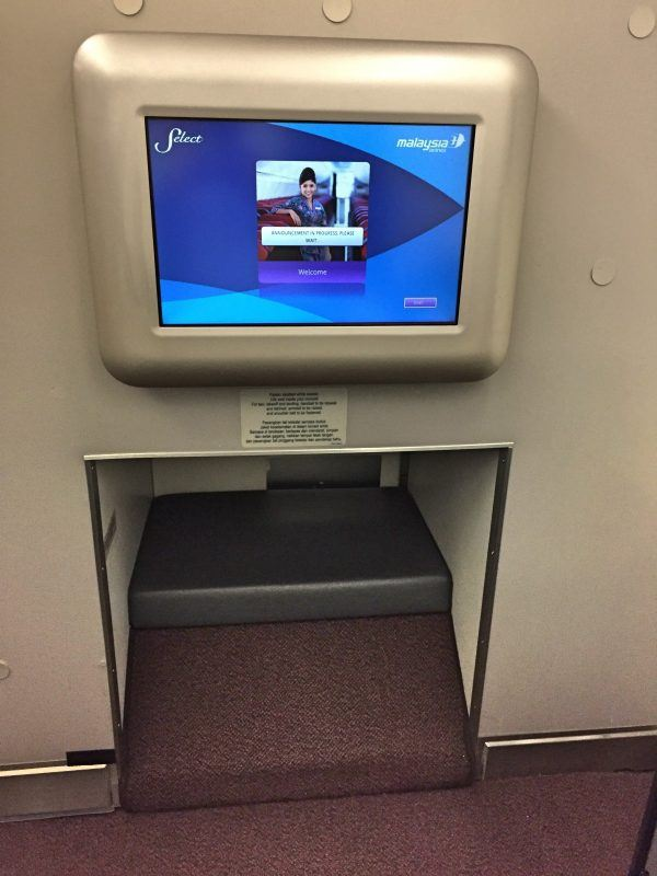 malaysian airlines business class review
