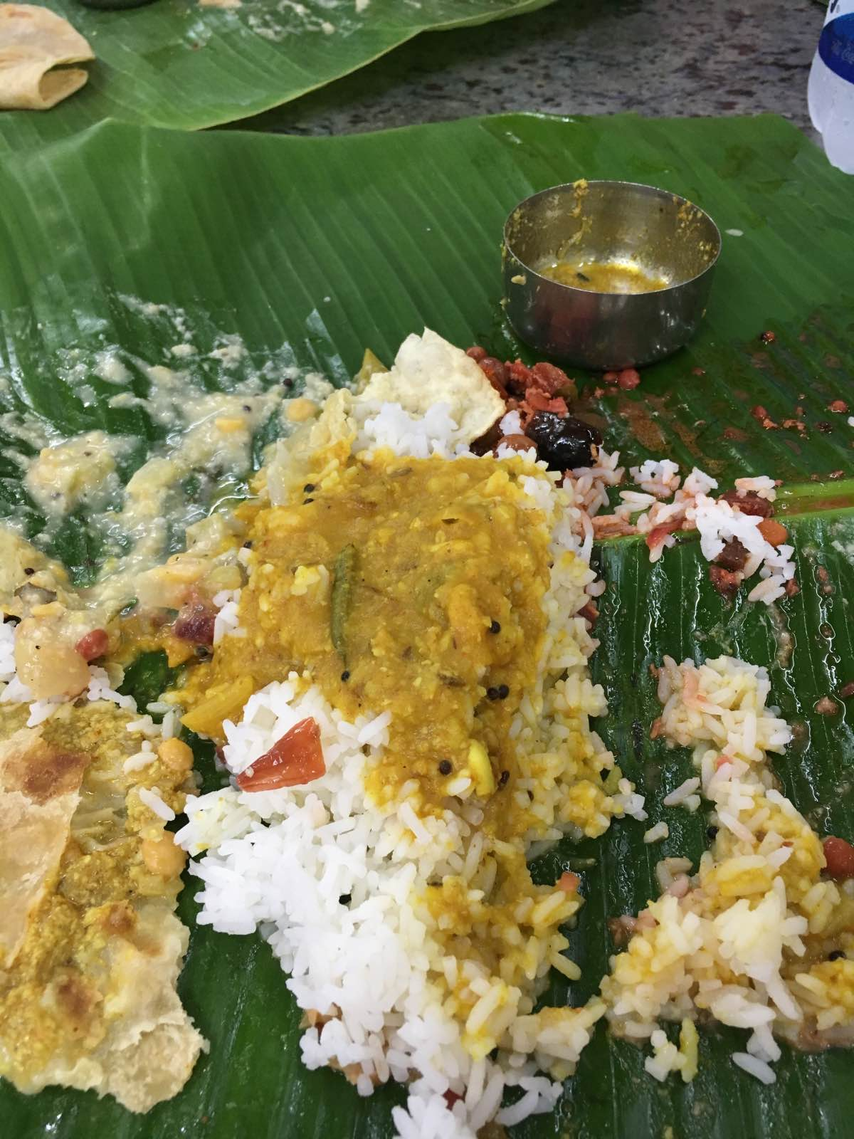 South India Thali in Madurai