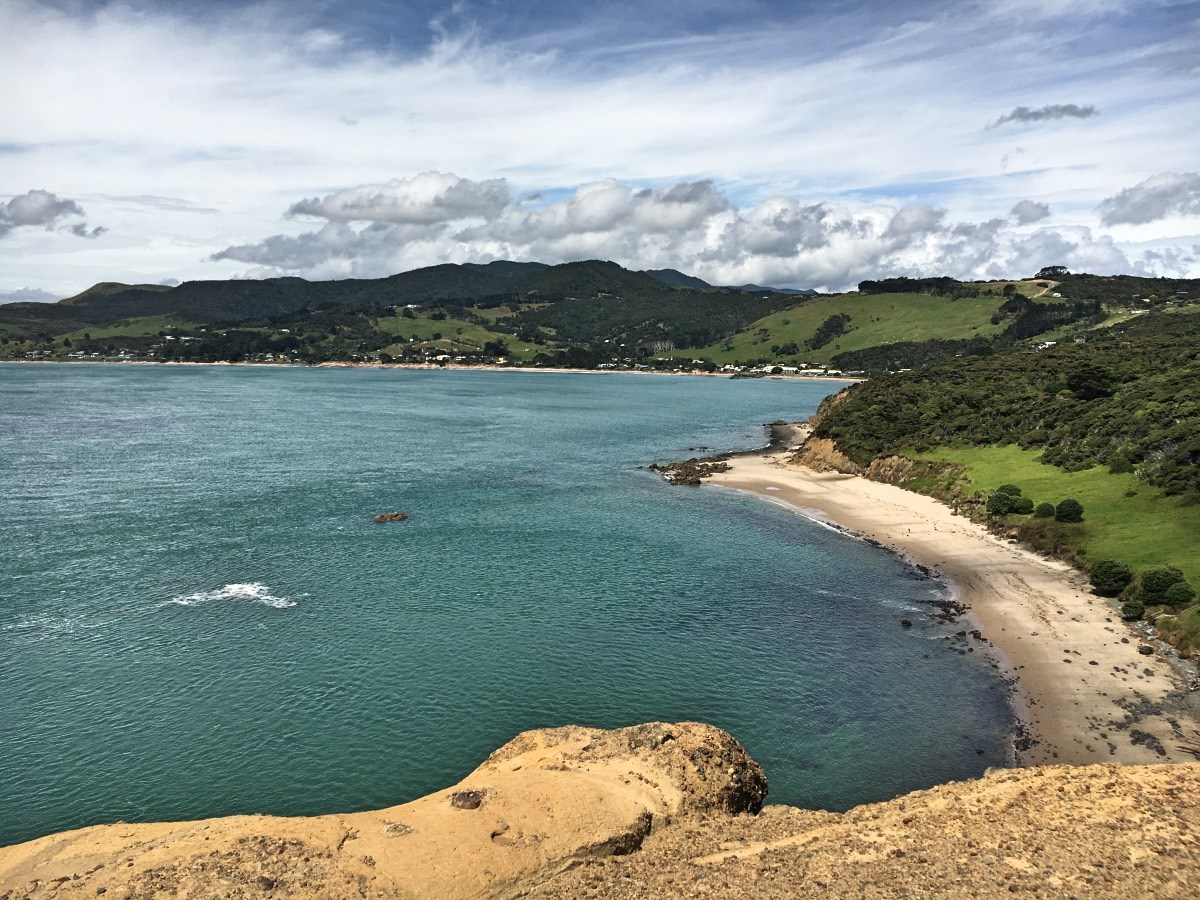 The Hokianga Harbour looking towards Omapere