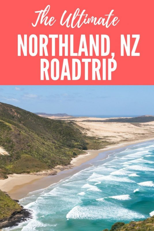 Northland New Zealand road trip