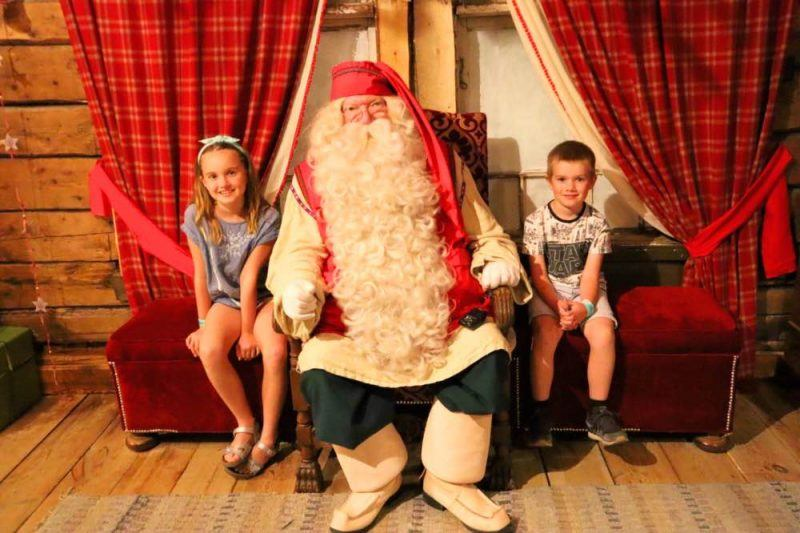 Meeting the REAL Santa Claus!