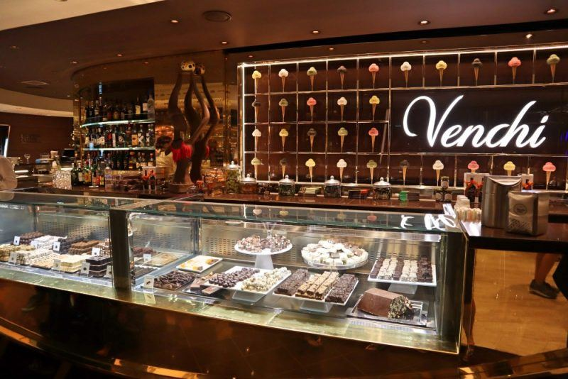 MSC Italian cruises have a Venchi store onboard