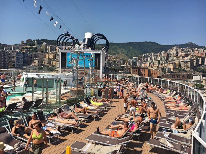 MSC cruises 2018 out of Genoa