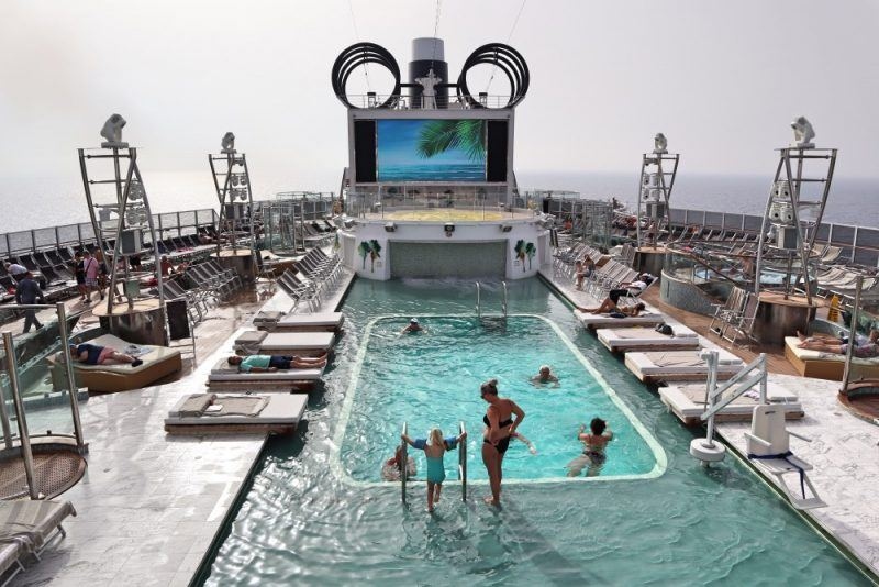 MSC Seaview pools