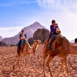 Wadi rum with kids