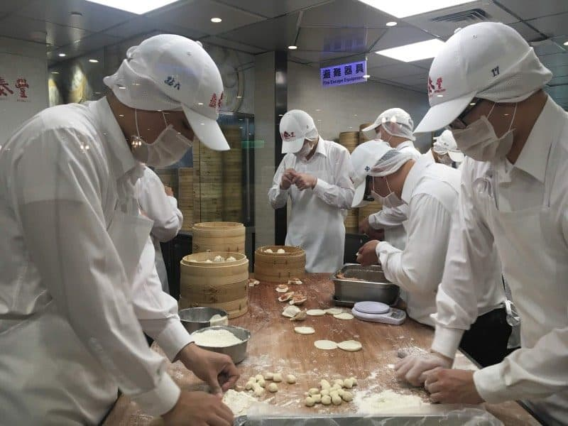 Din Tai Fung must be on your list of Taiwan places to visit.
