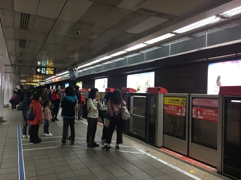 The efficient metro will give you lots of options for what to do in taipei for 3 days